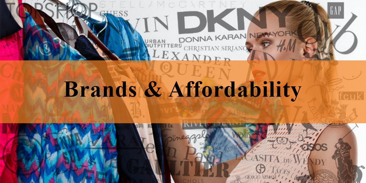 Brands & Affordability